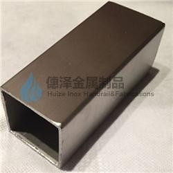 Stainless Steel Square Tube-Product- frameless glass clamp